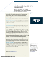 Perelman School of Medicine at the University of Pennsylvania on COVID-19 antibodies transferring