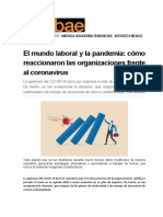 NOTICIA EL MUNDO LABORAl