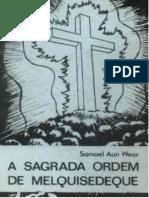 A Sagrada Ordem de Melquisedeque (Capas e Livro) (1)