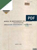 Yanacancha Huancayo Presa