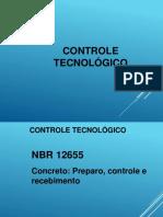 Controle Tecnologico NBR 12655-2015