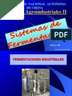 Aula 04 - Sistemas de Fermentación (1)