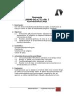 Unidad Didactica No.7 Poligonos Irregulares