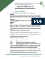 ESP. TEC. ARQUITECTURA MODULO S.H.
