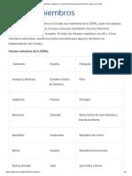 Estados Miembros _ Comisión Económica Para América Latina y El Caribe