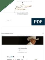 Acordes de_ La distancia _ micuatro.com - La casa del cuatro venezolano