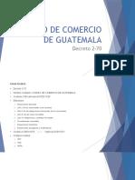 1. Generalidades del Derecho mercantil