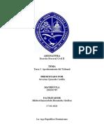 ASIGNATURA Derecho Procesal Civil II