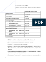 Finance publique exercices Sylla