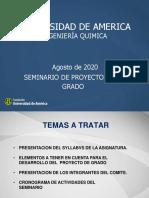 TALLER 1_ LINEAMIENTOS TRABAJOS DE GRADO IQ COMITE PROYECTO GRADO I-2020 (1)