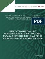 Segob Protocolo Nacional de Coordinación, 17mar21