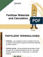 PhilRice - Fertilizer Calculation