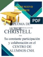 Diploma Centro de Alumnos