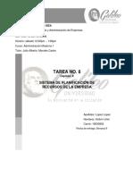 TAREA 8 ADMINISTRACION MODERNA 1 KELLVIN LOPEZ 19000802