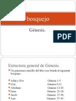 Bosquejo de Génesis