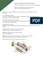 Instructivo Instalación y reparación de tubos fluorescentes