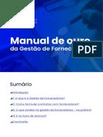 Manual de ouro da Gestão de Fornecedores