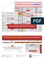 Access_Newspaper_Matrimonial_Classified_Ads_online_at_FindMyMatch!!