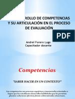 Presentación de Competencias Por Desarrollar
