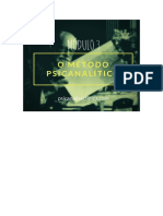 Formação em Psicanálise Clínica - Módulo 03
