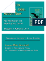 New Skills for New Jobs Action Now - Presentations