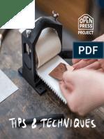 OpenPressProject_tipsAndTechniques
