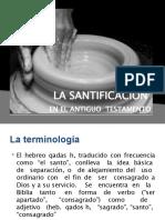 LA SANTIFICACIÓN AT