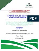 Informe Técnico Del Subproyecto Bofedal - InIA Parte II