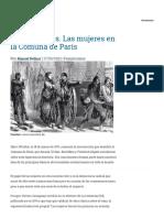 Las mujeres en la Comuna de París