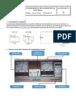 Corriente Dependiente de La Resistencia Electrica Lab7 en Proceso