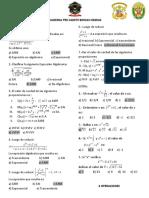 Expresiones Algebraicas - 4 Operaciones