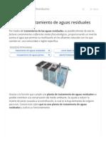Plantas de tratamiento de aguas residuales – Tratamiento de Aguas Residuales HIPOTESIS