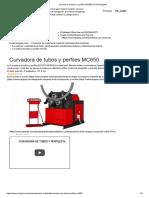 3. Curvadora de Tubos y Perfiles MC650 _ Prada Nargesa