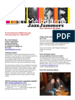 Jammers enews 1 March 2011