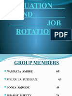 JOB_EVALUATION_______________AND________________________________________JOB_ROTATION