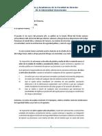 Carta Al Congreso Del Estado de Veracruz Academia de Derecho Penal