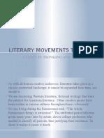 Literary Movements Timeline