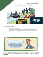 ACTIVIDADES ECONOMICAS PRIMARIAS del Peru   6to PRIMARIA