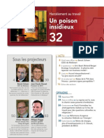 FORWARD, le magazine de la FEB, février 2011, le sommaire