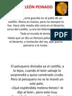 EL LEÓN PEINADO.pptx 15 MARZO