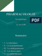 Exposé de cardio - Pharmaco