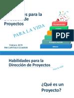 Charla Proyectos PMIEF Ecuador