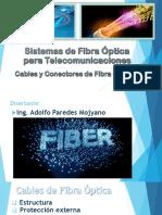 2_- Cables y Conectores de Fibra óptica