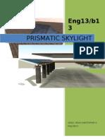 prismatic skylight