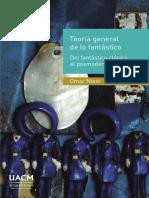 Teoría General de Lo Fantástico de Omar Nieto UACM México 2015