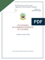 commerce exterieur statistiques douanes annee 2016
