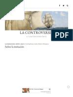 Sobre la imitación – Carlos Marín-Blázquez