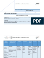 Desarrollo Humano-planeación Didáctica u1