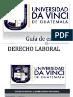 1. GUÃ_A DE  DERECHO LABORAL (1)