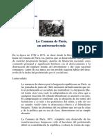PCP - La Comuna de París